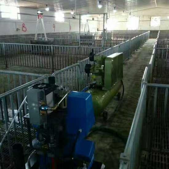 牧原养殖场顶棚外墙保温聚氨酯喷涂机