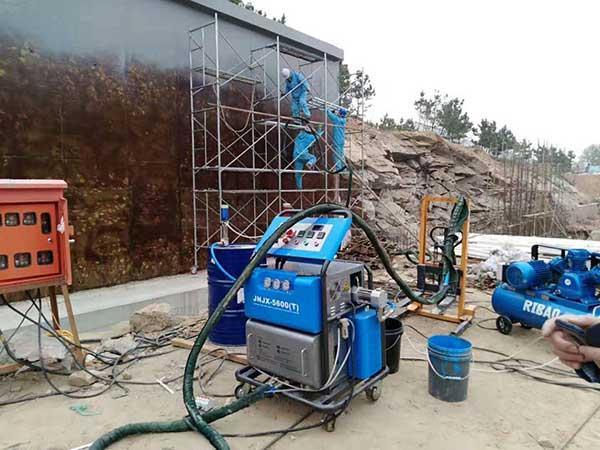 H5600T聚氨酯外墙喷涂机九旭机械厂家