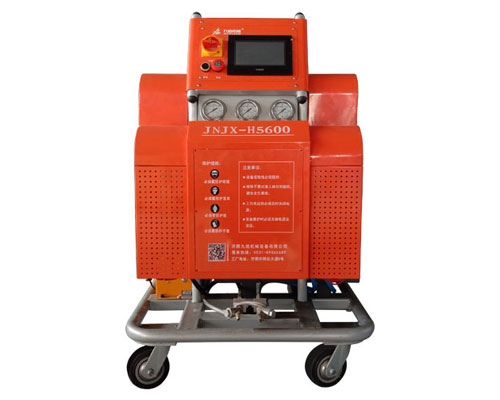 H5600PLC触摸屏控制PLC产品包装聚氨酯发泡灌注机