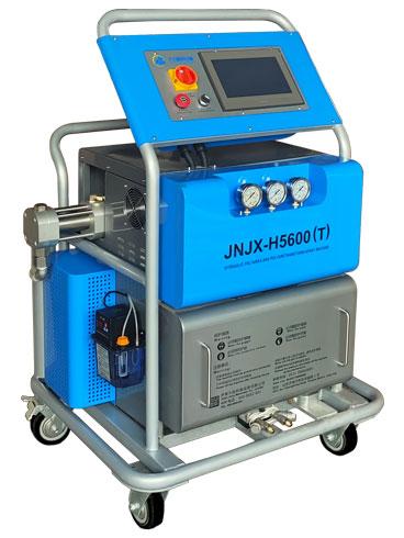 H5600TPL触摸屏产品包装聚氨酯现场发泡机