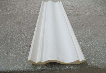 装饰线条聚氨酯硬质仿木发泡案例
