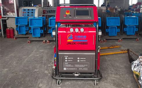 H5800触摸屏PLC聚氨酯高压PU发泡机