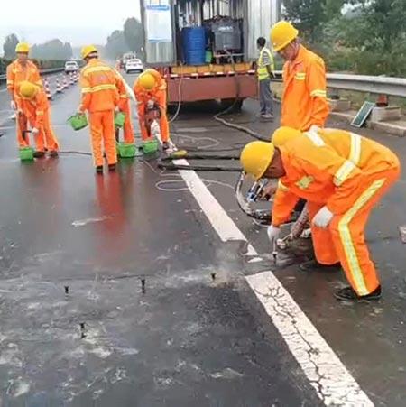 高压注浆机高速公路填缝施工