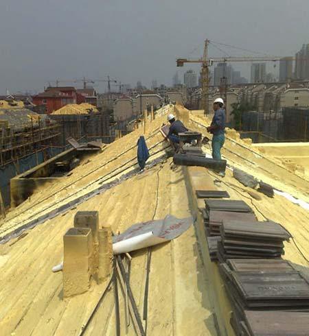 聚氨酯硬泡体可做屋面墙体的保温层