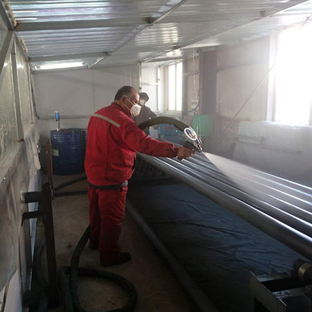 聚脲涂料喷涂钢结构防腐