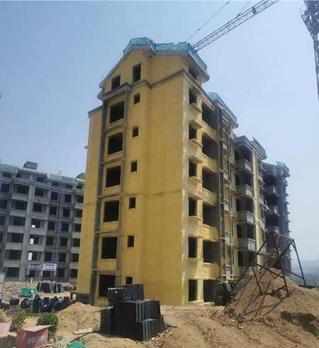 聚氨酯材料建筑保温喷涂