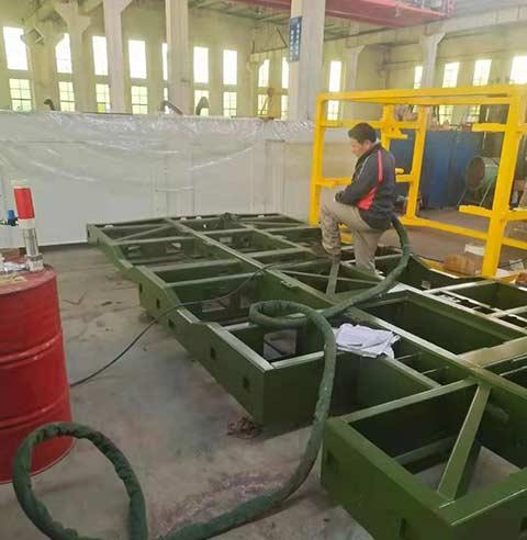 设备保温聚氨酯发泡施工4
