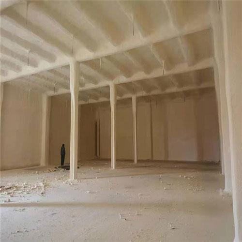 聚氨酯发泡做阁楼顶面内墙保温